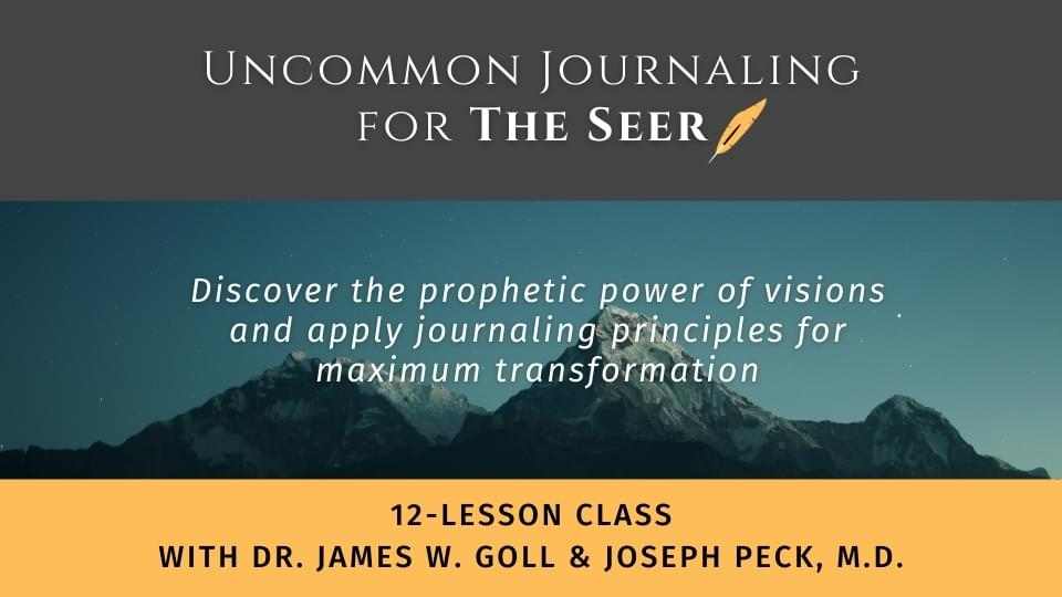 Uncommon Journaling for The Seer