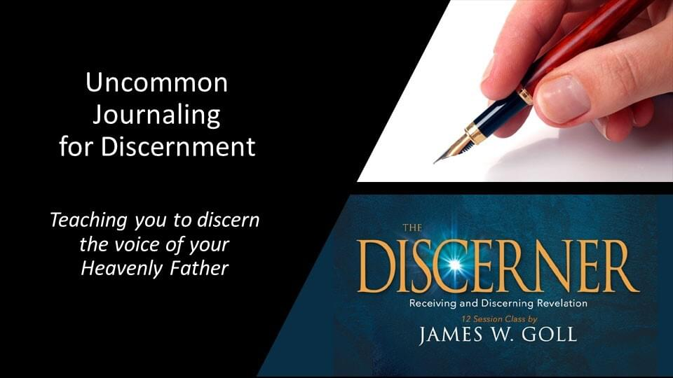 Uncommon Journaling for Discernment